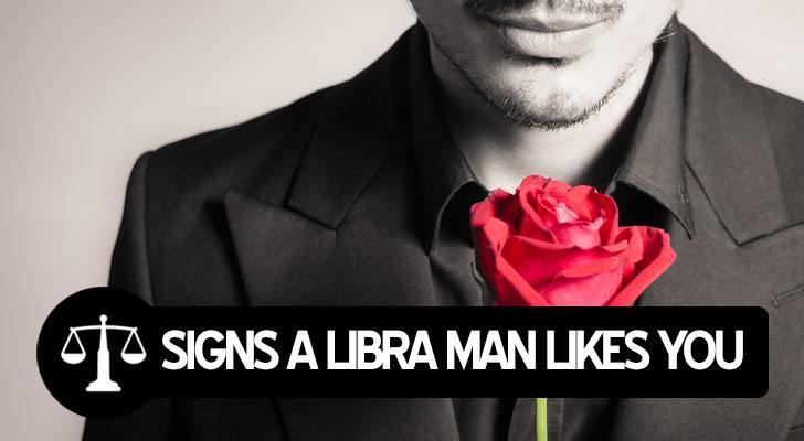 Signs That A Libra Guy Likes You
