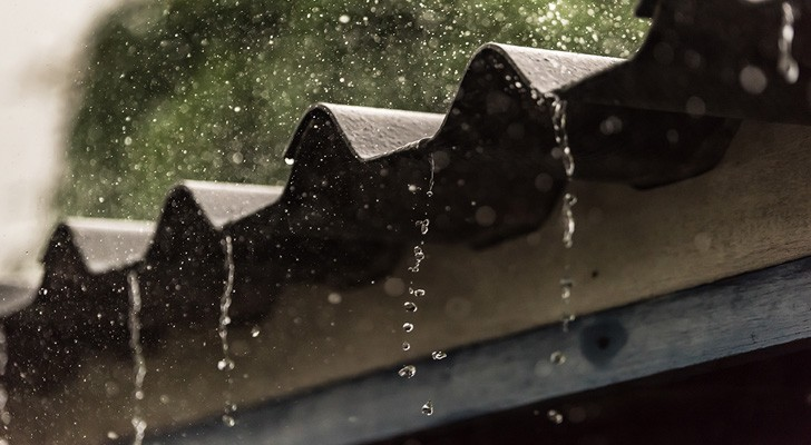 Raindrops on a tin roof
